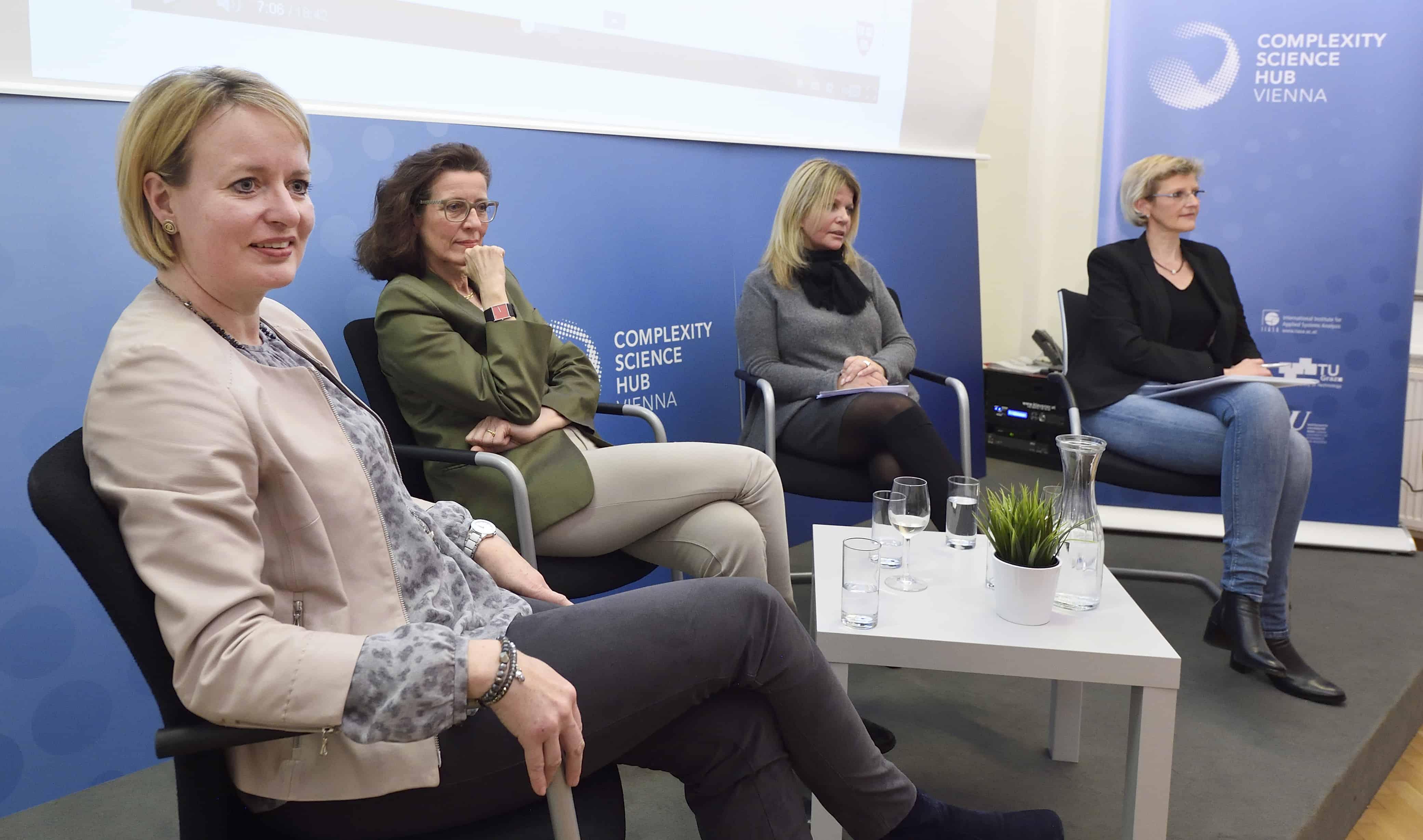Netzwerktreffen des AIT am internationalen Frauentag