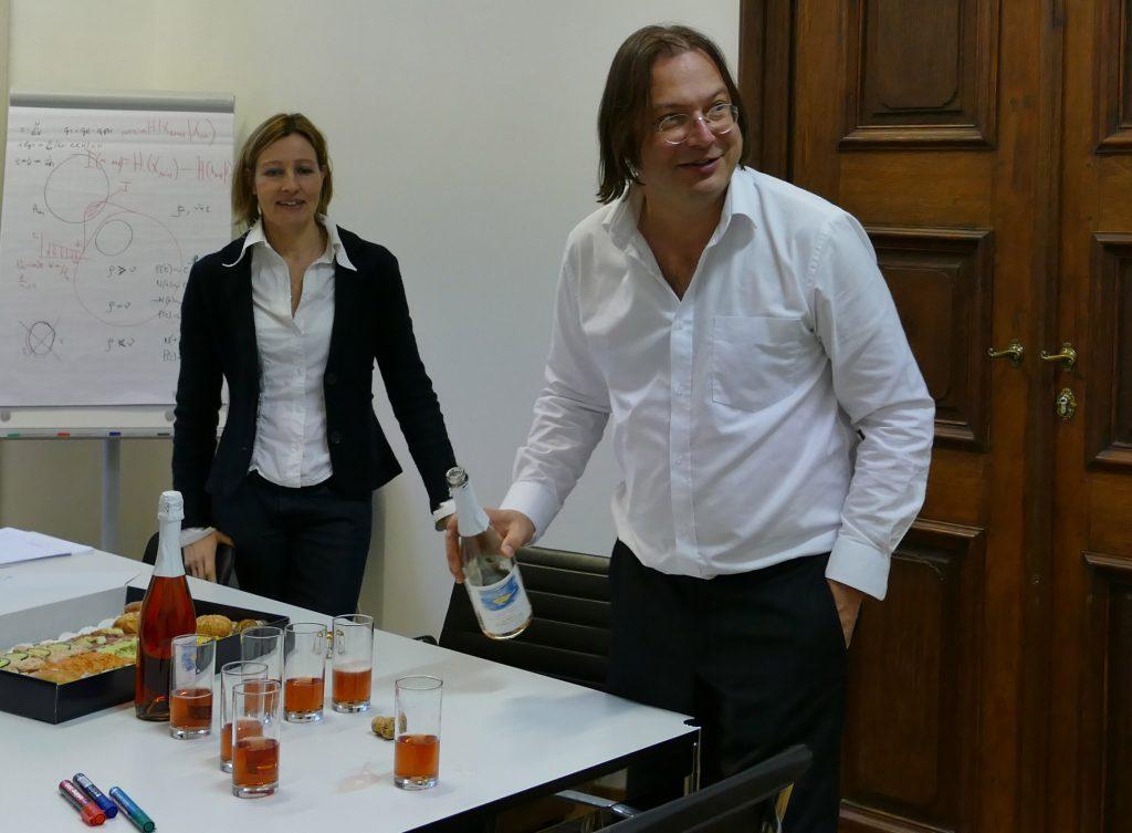 Verena Ahne and Stefan Thurner by (c) Laura Stöger